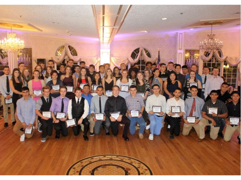 athletes earn awards image
