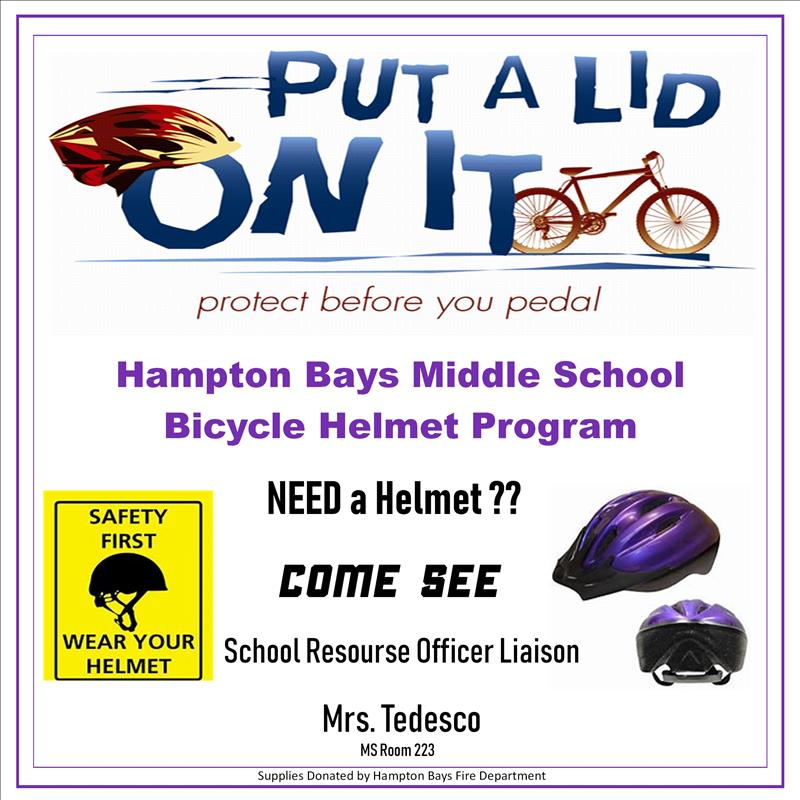 HBMS Helmet Program Poster