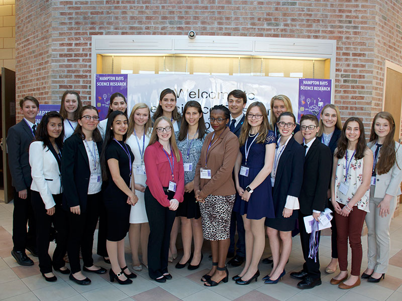 Science Research Students Present at Annual Symposium   Default