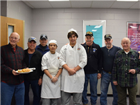 Morning Meal Brings Culinary Students, Veterans Together photo