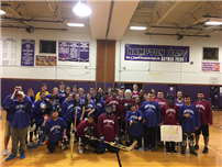 Score for Unified Hockey Event photo