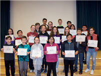 Middle school Students Rise to the Challenge photo