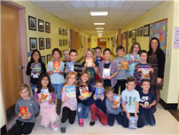 K-Kids Collect Food Donations photo