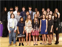 Hampton Bays Inducts 22 Into National Junior Honor Society photo